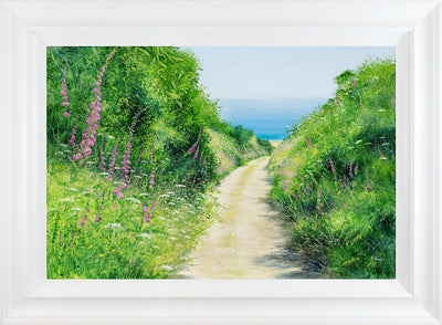 Down to the Beach limited edition print by Heather Howe