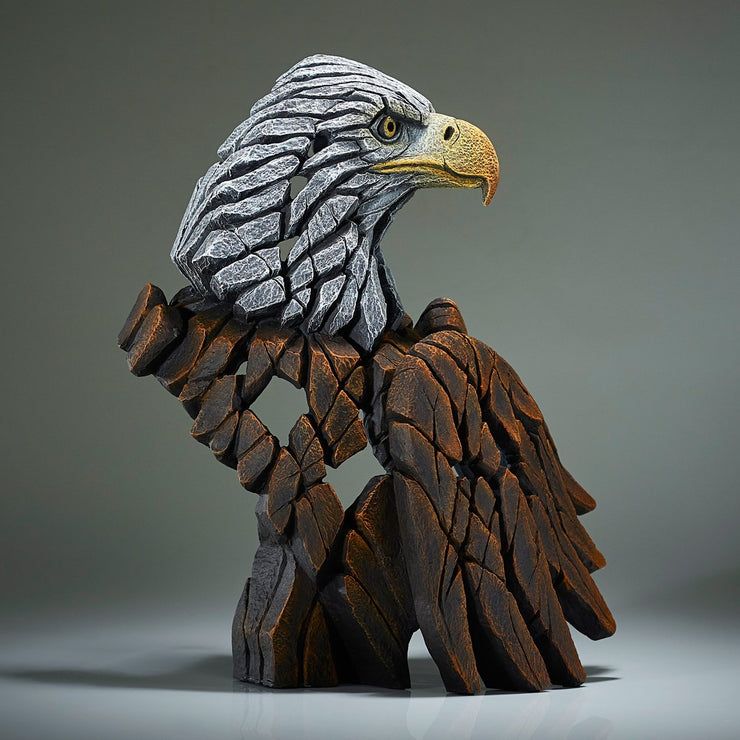 Bald Eagle Bust from Edge Sculpture by Matt Buckley