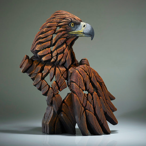 Golden Eagle Bust from Edge Sculpture by Matt Buckley