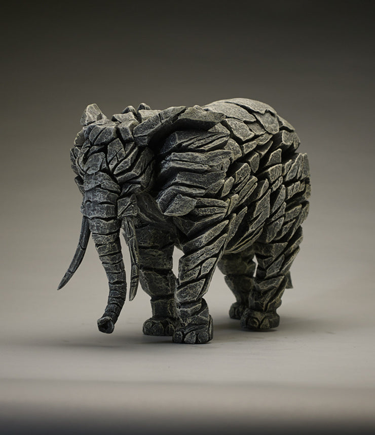 Elephant White by Edge Sculpture