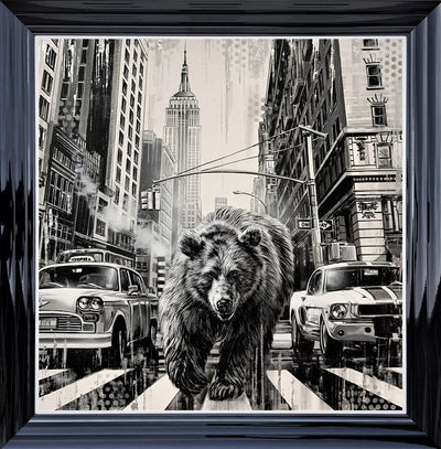 Endangered Empire limited edition canvas print by Ben Jeffery