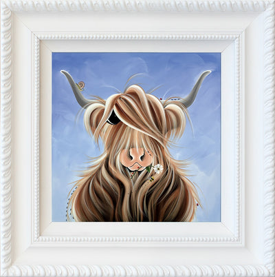 Finlay McMoo limited edition print by Jennifer Hogwood