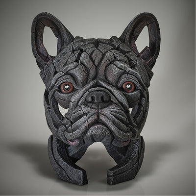 French Bulldog Bust - Blue from Edge Sculpture by Matt Buckley