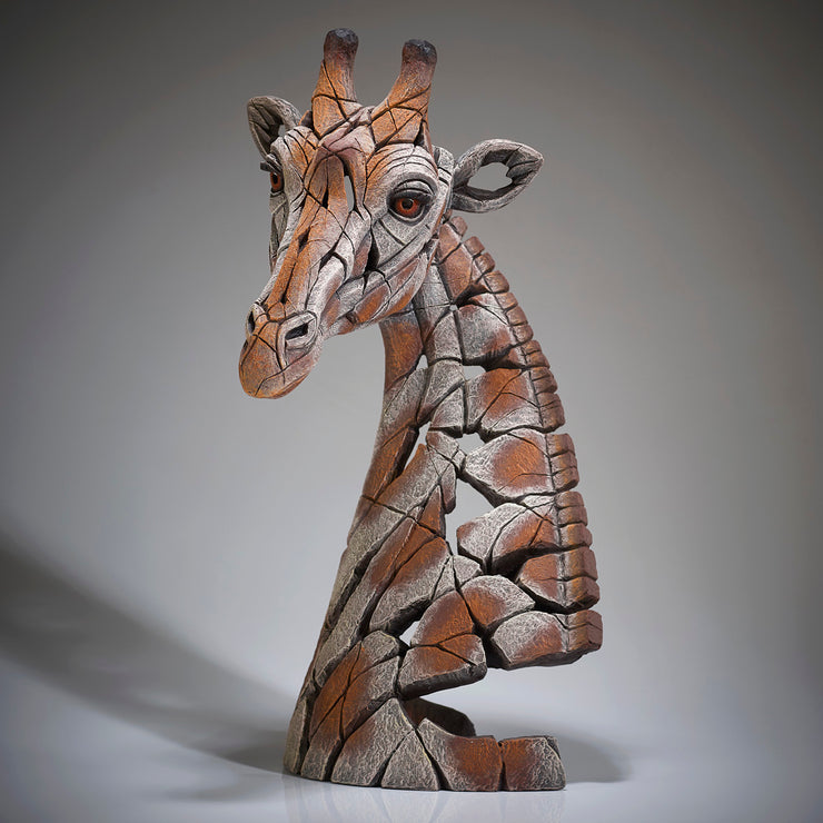 Giraffe Bust from Edge Sculpture by Matt Buckley copyright Artworx