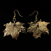 Real Leaf Earrings