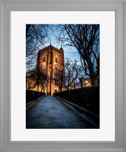 St Nicholas limited edition print by Neil Murray Grey Frame