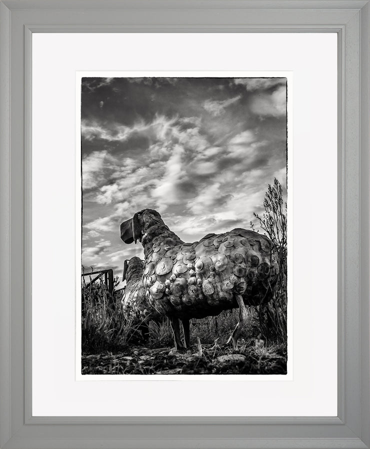 Follow Me Limited Edition Print by Neil Murray Grey Frame