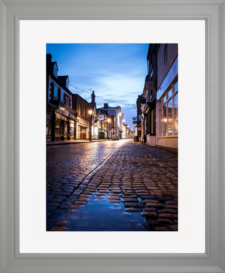 St Mary's Limited Edition Print by Neil Murray Grey Frame