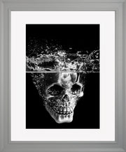 Splash Limited Edition Print by Neil Murray Grey Frame