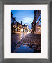 St Mary's Limited Edition Print by Neil Murray Grey Silver Frame