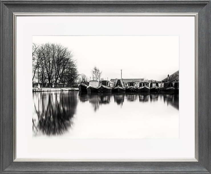 Still Limited Edition Print by Neil Murray Grey Silver Frame