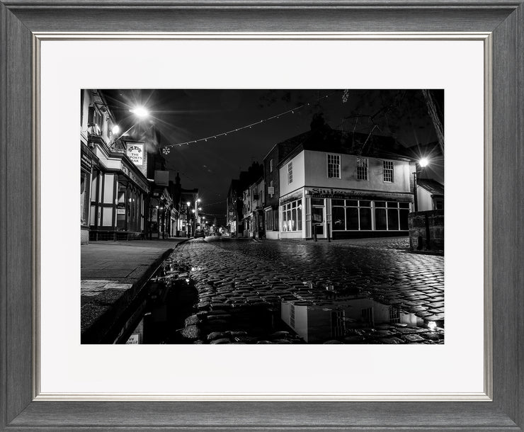 St Mary's 2 Limited Edition Print by Neil Murray Grey Silver Frame