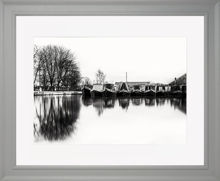 Still Limited Edition Print by Neil Murray Grey Frame