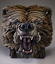 Grizzly Bear Bust