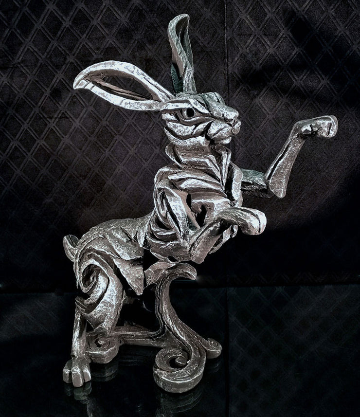 Hare Silver Limited Edition by Edge Sculpture