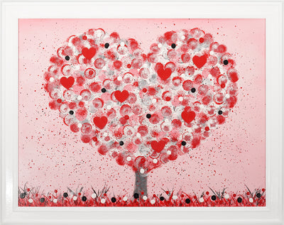 CLICK & COLLECT Heart Tree 1 original painting by Julie