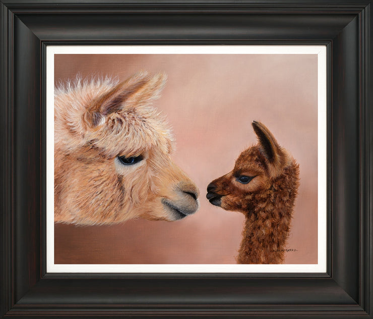 Hello Mum limited edition print by Alex McGarry