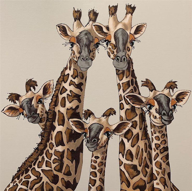 High Five limited edition print by Amy Louise