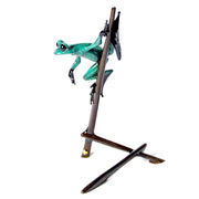 I-Spy Bronze Sculpture by Tim Cotterill Frogman Limited Edition