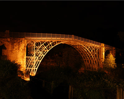 Ironbridge at Night Print by Lindsey Bucknor