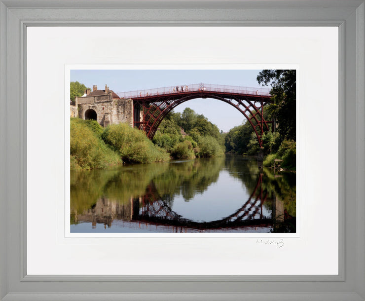 Ironbridge Reflection print by Lindsey Bucknor