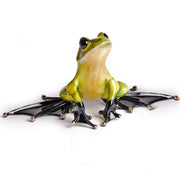Jump Start Limited Edition Bronze Sculpture by Tim Cotterill Frogman