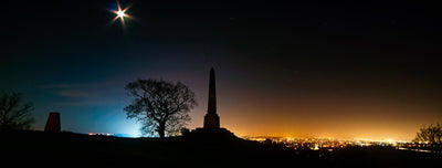Lilleshall Monument Print by Chris Gradwell