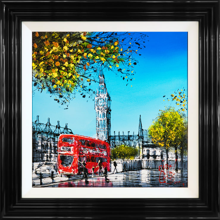 London Bus 2 by Nigel Cooke