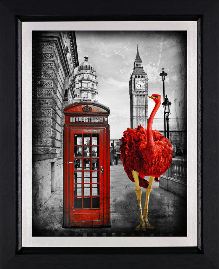 Looking for a Friend limited edition framed print by Lars Tunebo