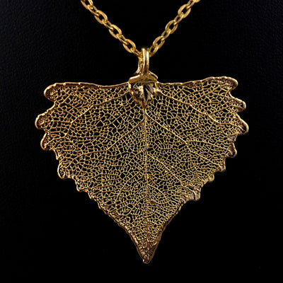 Real Leaf Necklace
