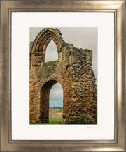 Lilleshall Abbey & Monument Limited Edition Print by Rob Hall Bronze Frame
