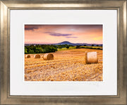 Wrekin Sunset Print by Lindsey Bucknor Bronze Frame
