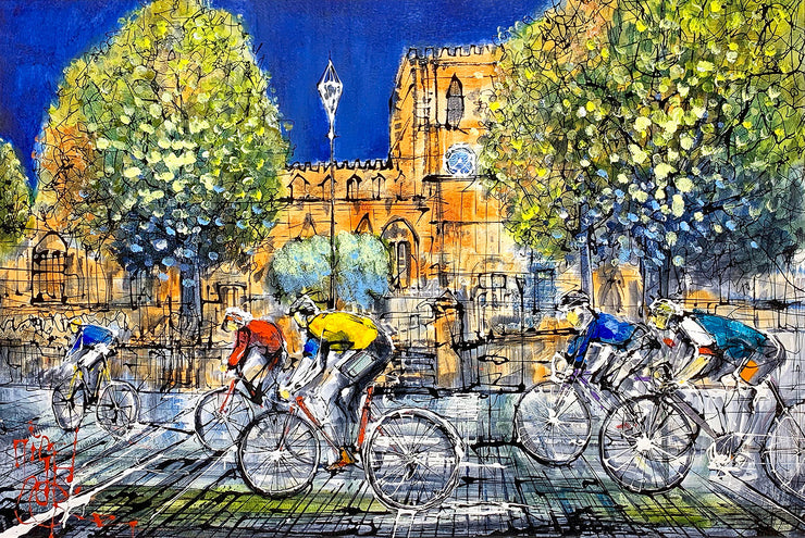 Newport Nocturne Original Painting by Nigel Cooke