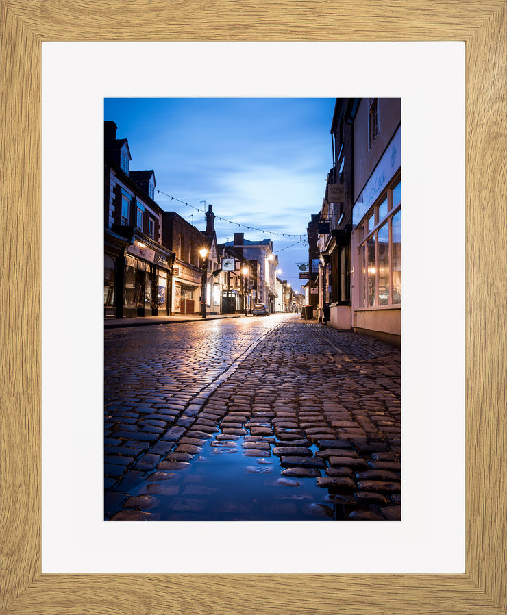 St Mary's Limited Edition Print by Neil Murray Oak Frame