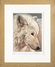 Spirit of the North Limited Edition Print by Sue Payton Framed Oak