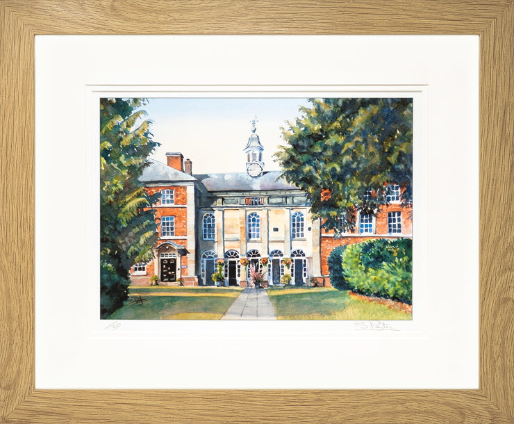 Adams Limited Edition Print by Sue Payton Framed Oak