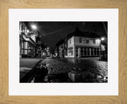 St Mary's 2 Limited Edition Print by Neil Murray Oak Frame