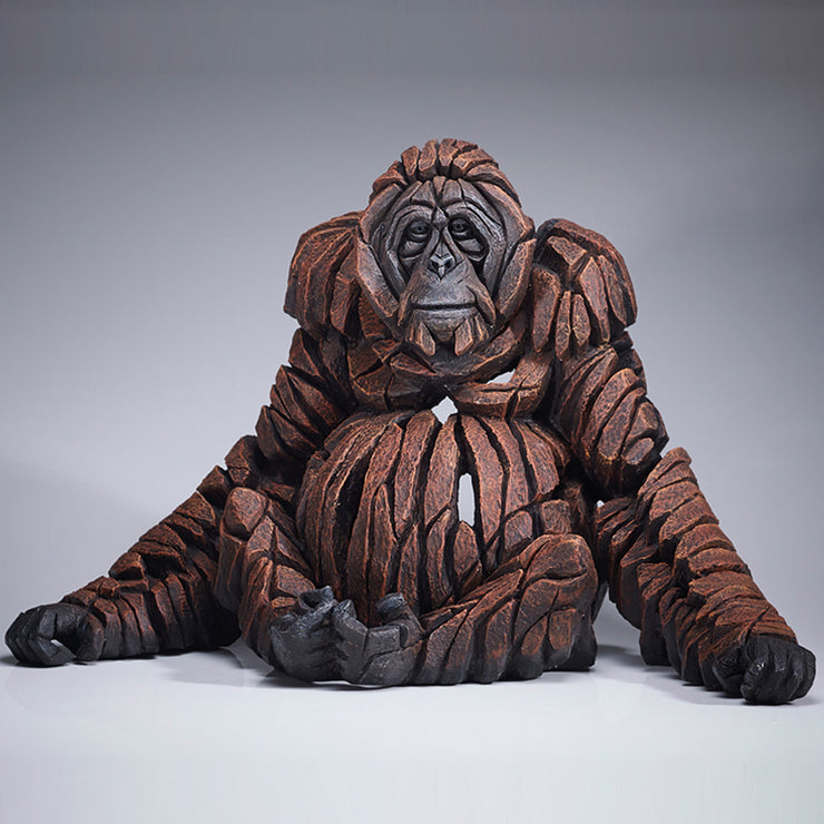 Orangutan by Edge Sculpture