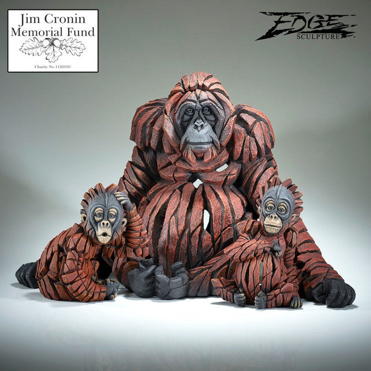 "Baby ""Oh"" Orangutan by Edge Sculpture"