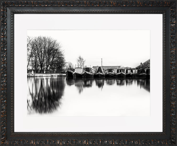 Still Limited Edition Print by Neil Murray Ornate Black Frame