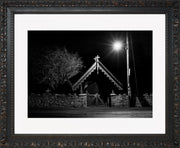The Gate Limited Edition Print by Neil Murray Ornate Black Frame