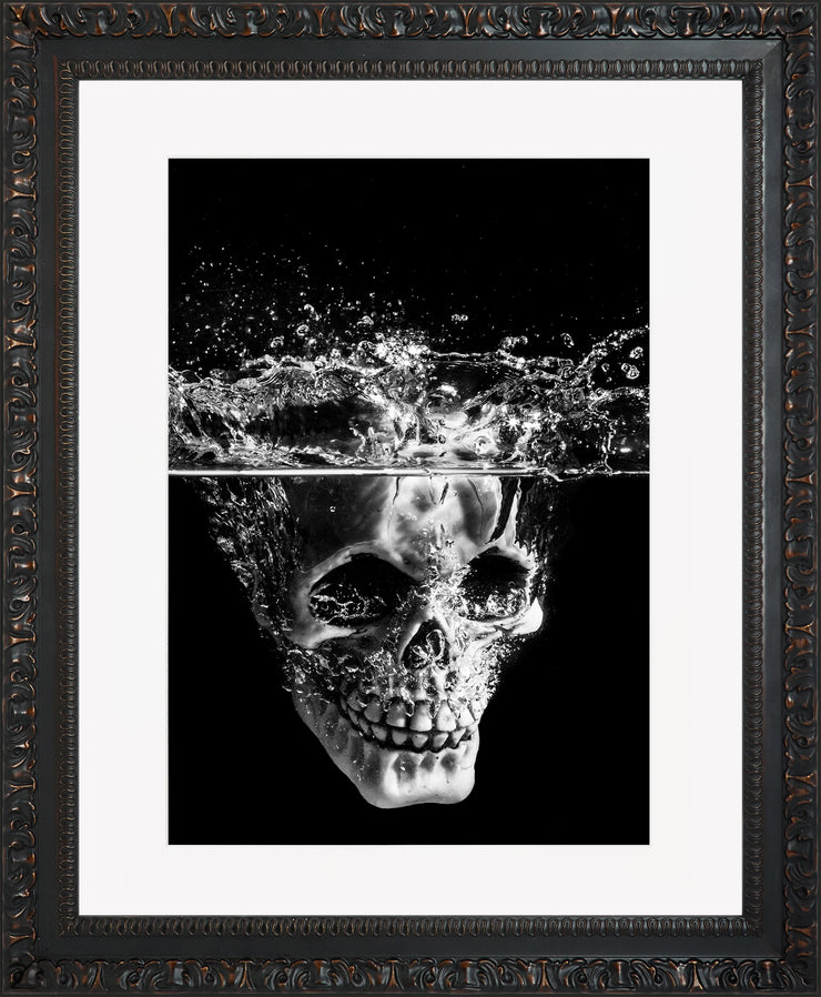Splash Limited Edition Print by Neil Murray Ornate Black Frame