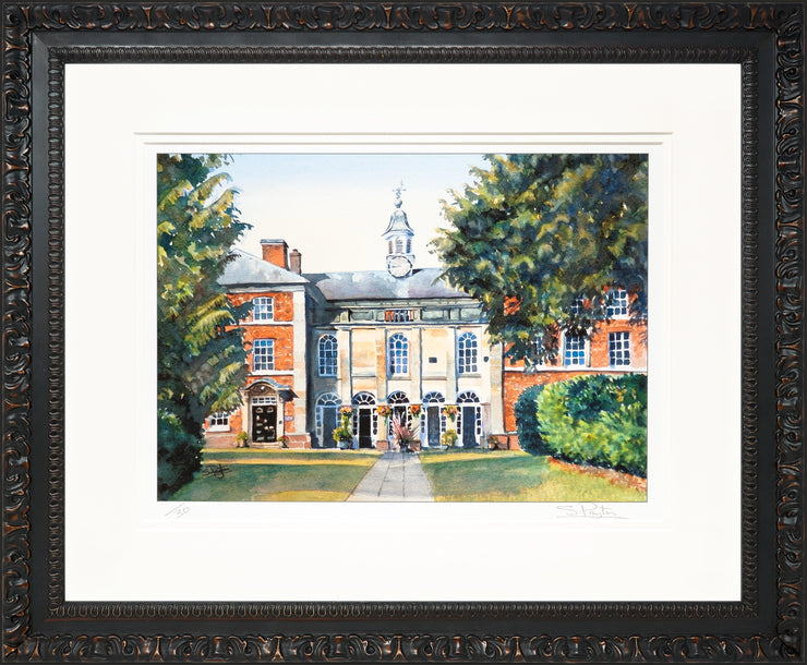 Adams Limited Edition Print by Sue Payton Framed Ornate Black