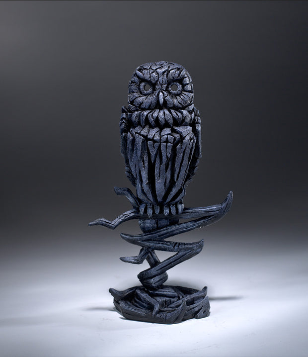 Owl Midnight Blue by Edge Sculpture