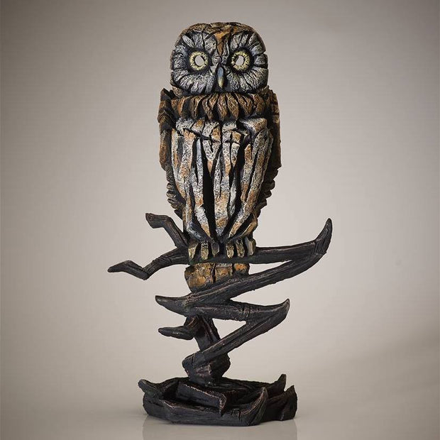 Tawny Owl from Edge Sculpture by Matt Buckley