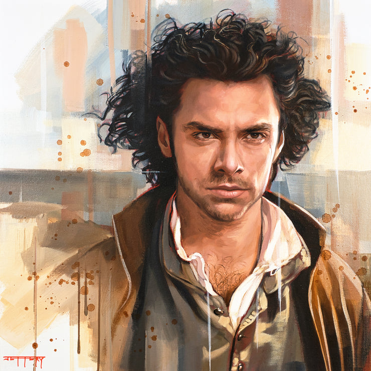 Poldark Original Painting by Ben Jeffery