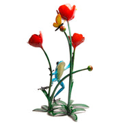 Poppy Bronze Sculpture by Tim Cotterill Frogman