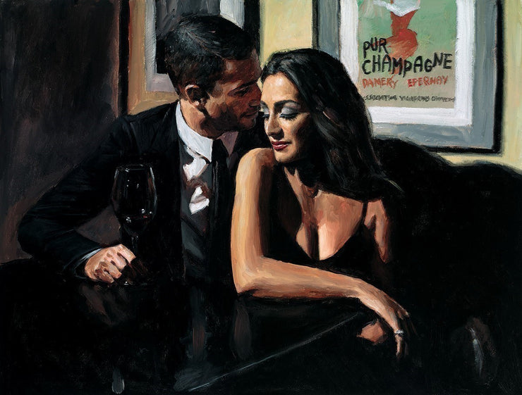 Proposal at Hotel Du Vin limited edition print by Fabian Perez