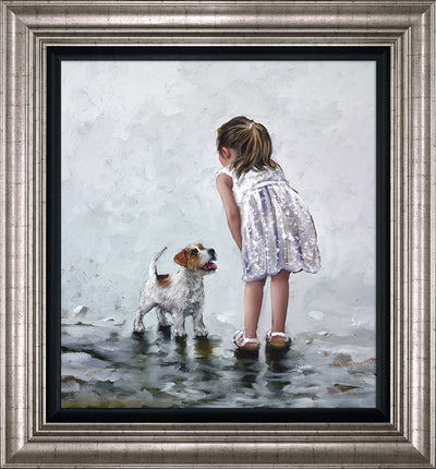Puppy Love limited edition print by Keith Proctor