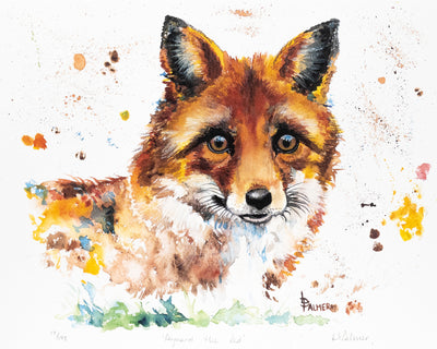 Reynard the Red Limited Edition Print by Lesley Palmer